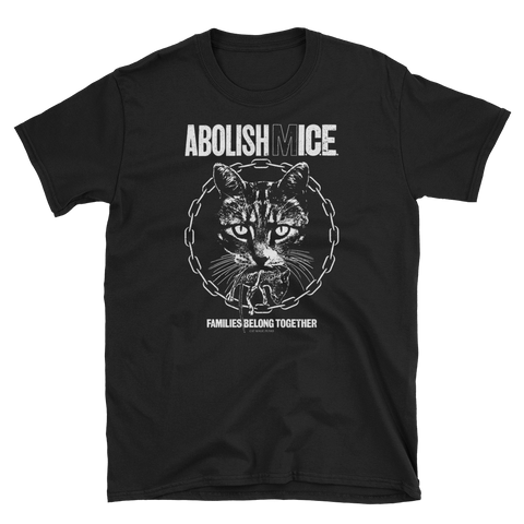 CAT MAGIC PUNKS Abolish Mice Shirt