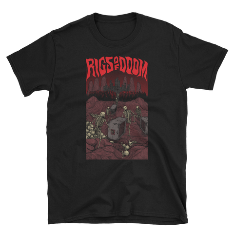 RIGS OF DOOM Damned Roadies Of Valhalla Shirt