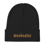 WEEDEATER God Luck Logo Embroidered Beanie