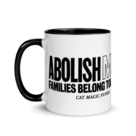 CAT MAGIC PUNKS Abolish (M)ICE Mug