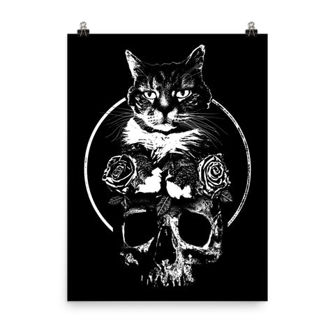 CAT MAGIC PUNKS Feline Forever Poster