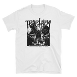 TRAP THEM Séance Skull White Shirt