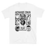 GENGHIS TRON Relief White Shirt
