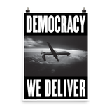 "STEALWORKS Democracy We Deliver (2020) 18x24"" Art Print"