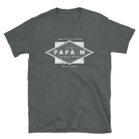 PAPA M Further Asphalt Shirt