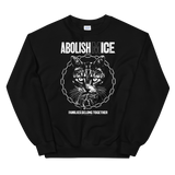 CAT MAGIC PUNKS Abolish (M)ICE Crewneck Sweatshirt