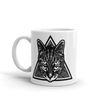 CAT MAGIC PUNKS Four Eyes Mug