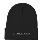 CAT MAGIC PUNKS Logo Knit Beanie