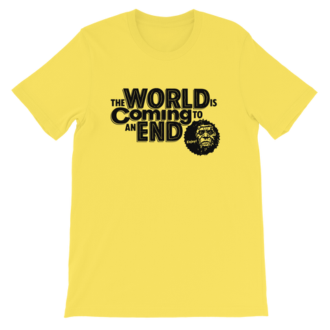 RYAN PATTERSON World Coming To An End Various Colors Shirt