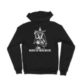 DEADGUY Death To False Metal Zip-Up Hoodie