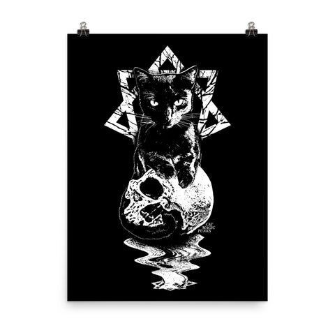 CAT MAGIC PUNKS Babylon Poster