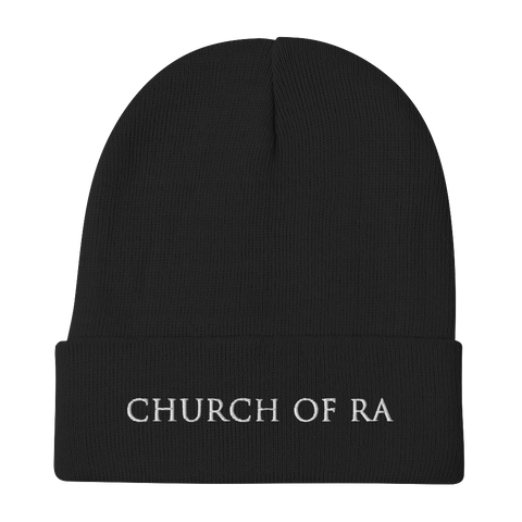 AMENRA Church Embroidered Beanie