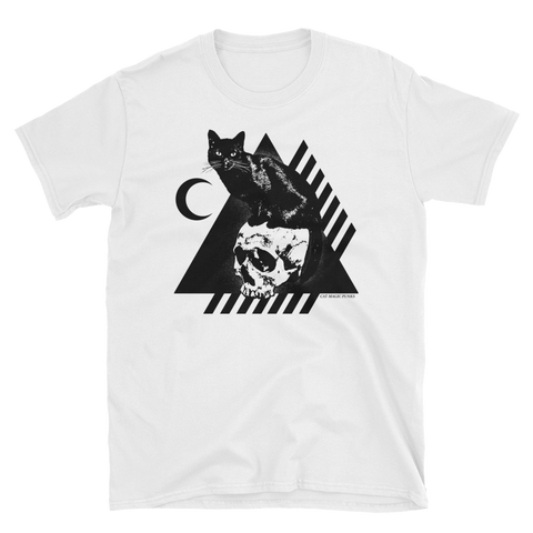 CAT MAGIC PUNKS Bastet Rising White Shirt