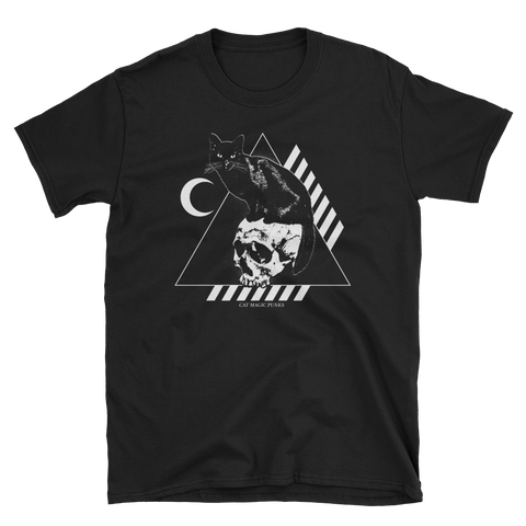 CAT MAGIC PUNKS Bastet Rising Black Shirt