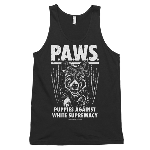 CAT MAGIC PUNKS PAWS Unisex Tank