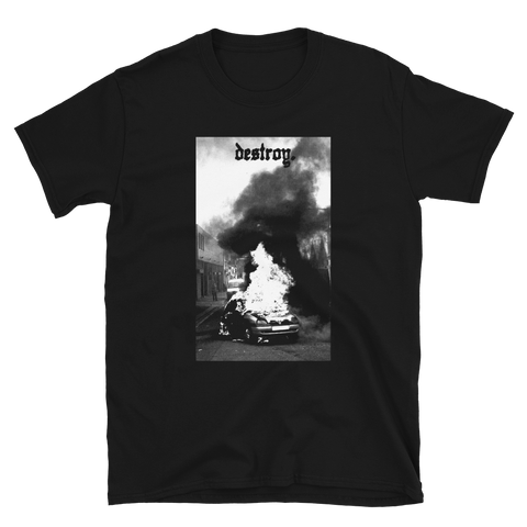 THOU Destroy Shirt Black