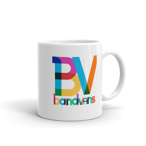 BAND VANS Pop Art Logo Mug