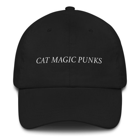 CAT MAGIC PUNKS Logo Hat