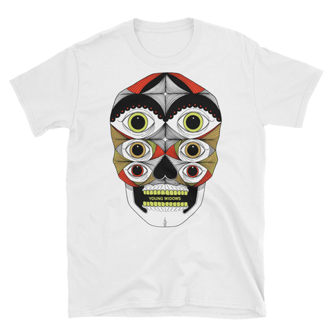 YOUNG WIDOWS Old Wounds Full Color White Shirt