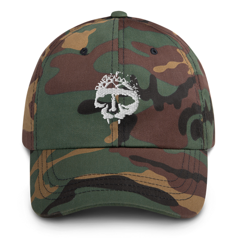 INTEGRITY Skull Camouflage Embroidered Hat