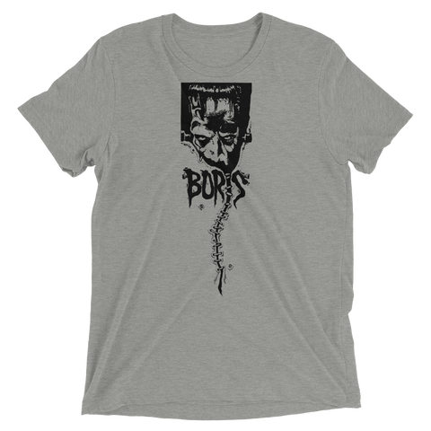 BORIS Vintage First Logo Tri-blend Shirt