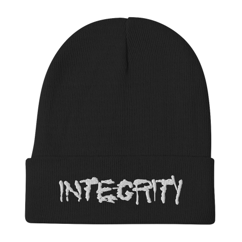 INTEGRITY Logo Embroidered Beanie