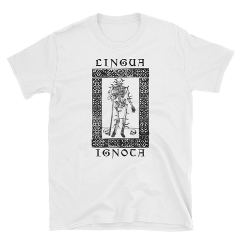 LINGUA IGNOTA Burn My Body Shirt
