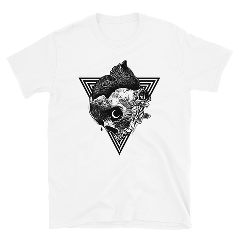 CAT MAGIC PUNKS Comfort White Shirt