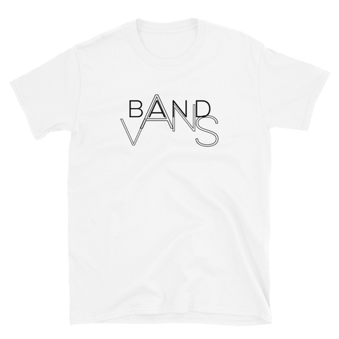 BAND VANS Logo Shirt White / Grey