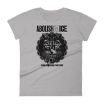CAT MAGIC PUNKS Abolish (M)ICE Women's Fitted Shirt