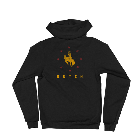 BOTCH Cowboy Zip-Up Hoodie