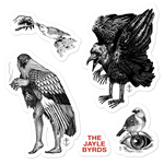 JAYE JAYLE The Jayle Byrds sticker sheet