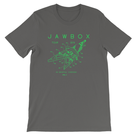 JAWBOX Diagram 2019 Shirt
