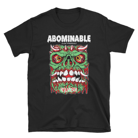 ABOMINABLE ELECTRONICS Hellmouth Shirt