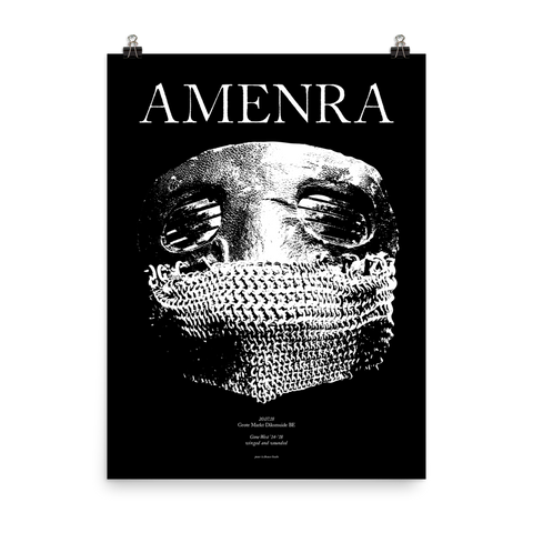 AMENRA Winged And Wounded Giclee Poster Print 18x24""