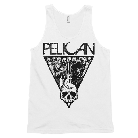 PELICAN Crows Asphalt/Grey/White Unisex Tank