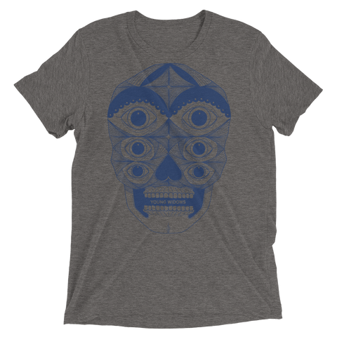 YOUNG WIDOWS Old Wounds Skull Tri-blend Shirt