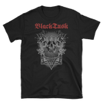 BLACK TUSK Typewriter Skull Shirt