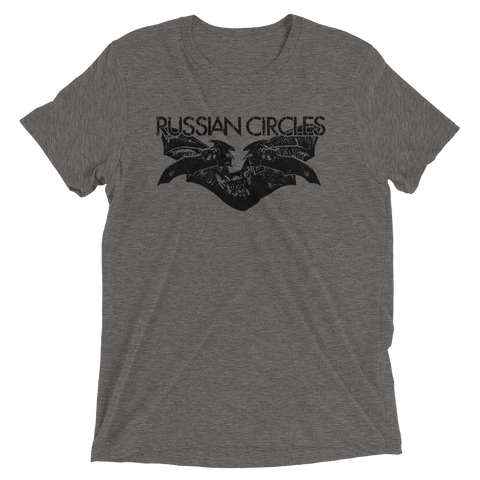 RUSSIAN CIRCLES Bats Tri-blend Shirt