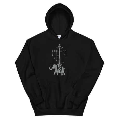 JUNE OF 44 Elephant Pullover Hoodie