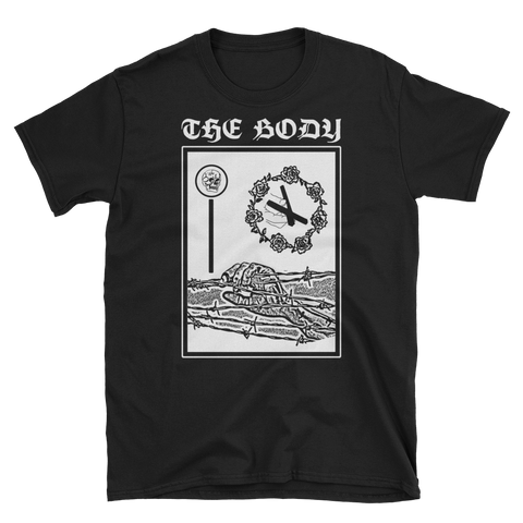 THE BODY Barbed Wire Black Shirt