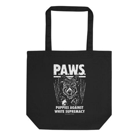 CAT MAGIC PUNKS PAWS Tote Bag