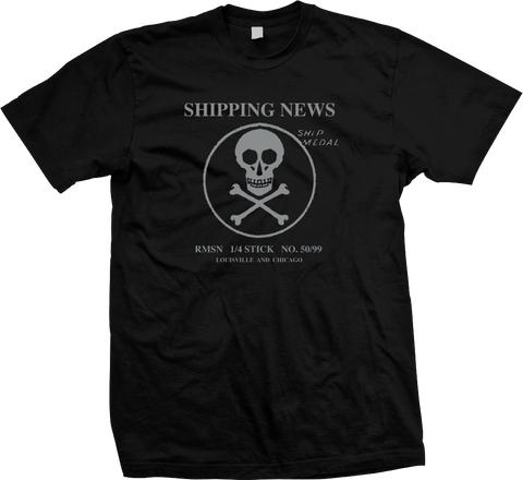 SHIPPING NEWS Ship Medal Silver Shirt - SALE