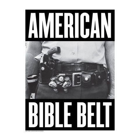 "STEALWORKS American Bible Belt 18x24"" Art Print"