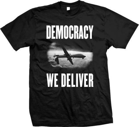 STEALWORKS Democracy We Deliver Shirt