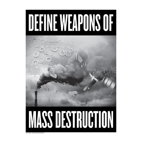 "STEALWORKS Define WMD 18x24"" Art Print"