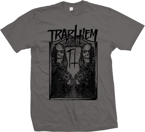 TRAP THEM Ghost Reapers Charcoal Shirt