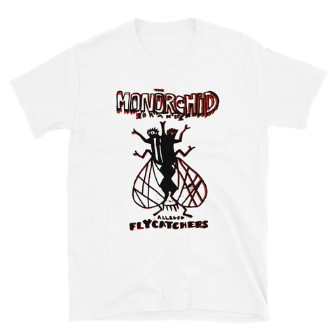 MONORCHID Flycatchers Shirt White/Black