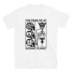 SATANIC PLANET Fear Shirt White