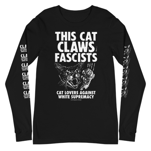 CAT MAGIC PUNKS Claws Fascists Long Sleeve